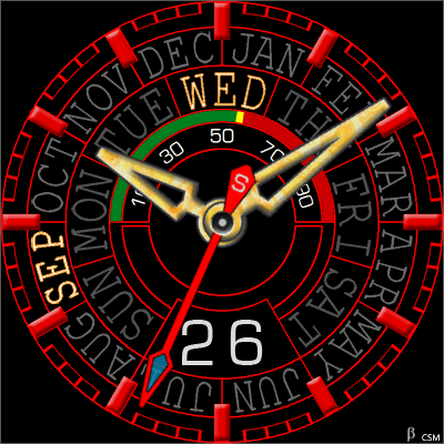 483S Android Watch Face