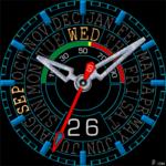 484S Clock Face