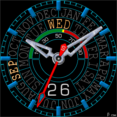 484S Android Watch Face