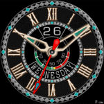 485 S Watch Face