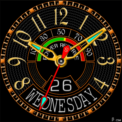489 S Android Watch Face