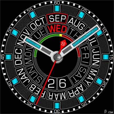 500 S Android Watch Face