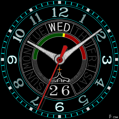 509 S Android Watch Face