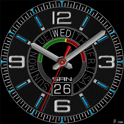 510 S Android Watch Face