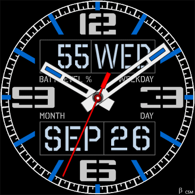 518 S Android Watch Face