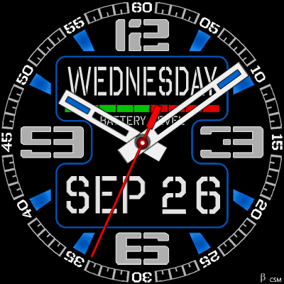 520 S Android Watch Face