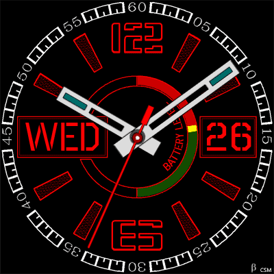 549 S Android Watch Face