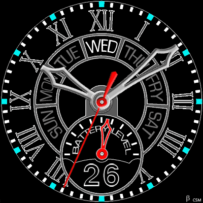 556 S Android Watch Face