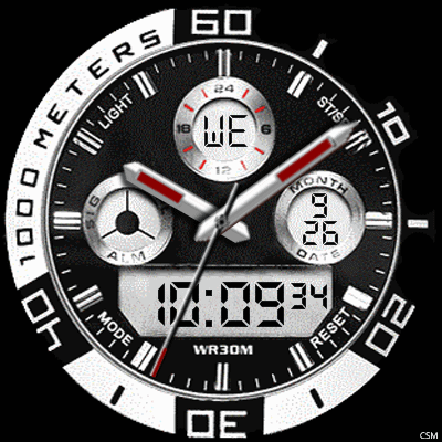 6 26A Android Watch Face