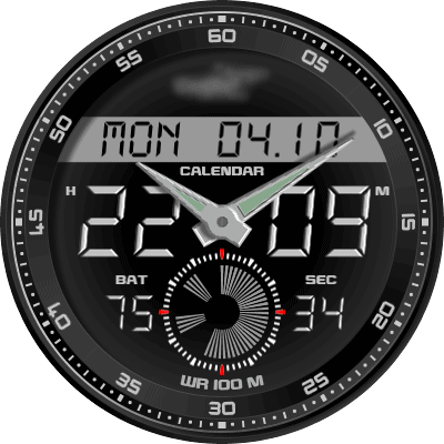 90 Well KeYOSC Android Watch Face