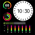 864 AW 13 Watch Face