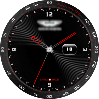 Aston M Android Watch Face