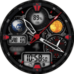 Audi RS 2.0 red Watch Face