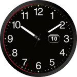 Audisport Black Watch Face