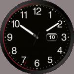 Audisport Black Watch Face