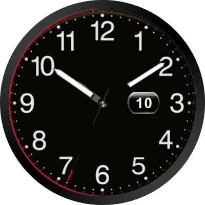 Audisport Black Android Watch Face