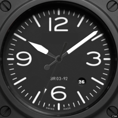 Bell & Ross Vintage Android Watch Face