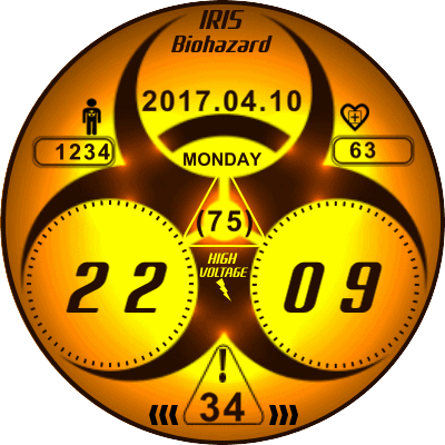 Biohazard Android Watch Face