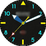 Bremont 02v Watch Face