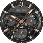 Bulova Curv 98A185 Watch Face