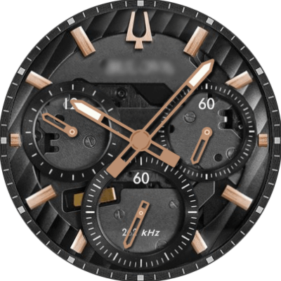Bulova Curv 98A185 Android Watch Face