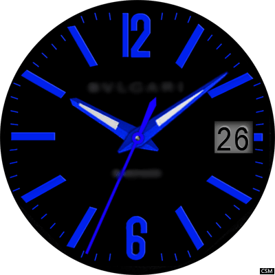 Bvlcari A Android Watch Face