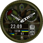 CAVENDISH BRAZILIAN SPECIAL FORCES Watch Face