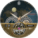 CAVENDISH NIGHT AND DAY Watch Face