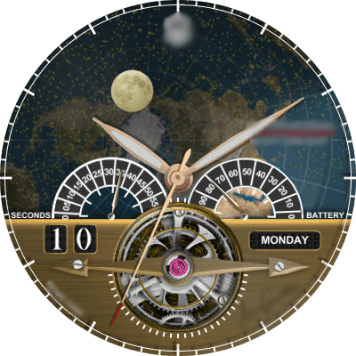 CAVENDISH NIGHT AND DAY Android Watch Face