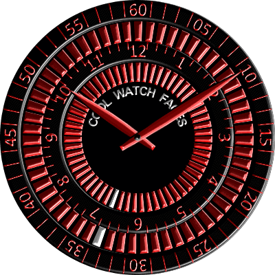 CWF 005 Android Watch Face