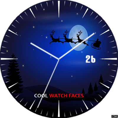 CWF Christmas Special Android Watch Face