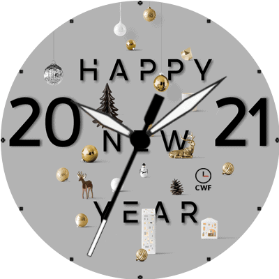 CWF Happy New Year 2021 Android Watch Face