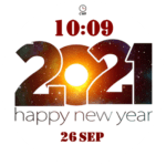 CWF New Year 2021 Clock Face