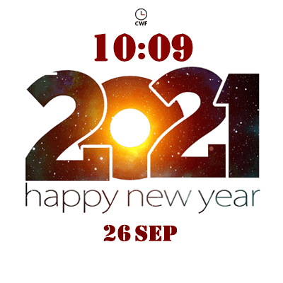 CWF New Year 2021 Android Watch Face