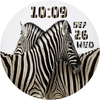 CWF Zebra Android Watch Face