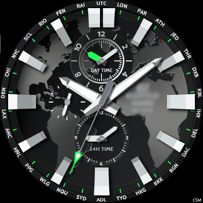 Casio EDIFICE - EFR303D Android Watch Face