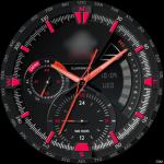 Casio EDIFICE – ERA300DB RED Watch Face