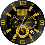 Caterpiller Watch Face
