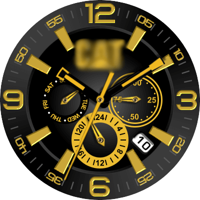 Caterpiller Android Watch Face