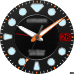Citizen 03a Watch Face