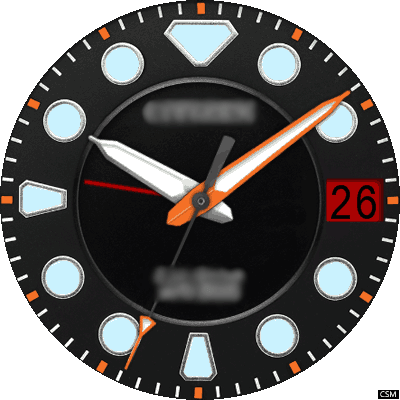 Citizen 03a Android Watch Face