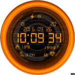 Clock Skin RR023 Watch Face