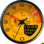 Clock Skin RR024 (Ferrari) Watch Face