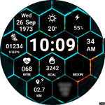 Clock Skin RR038 Watch Face