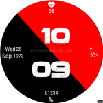 Clock Skin RR041 Watch Face