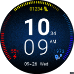 Clock Skin RR042 Watch Face
