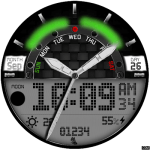 Clock Skin RR046 Watch Face