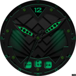 Clock Skin RR048 Watch Face
