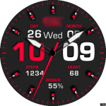 Clock Skin RR050 Collection Watch Face