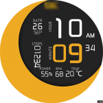 Clock Skin RR052 Watch Face